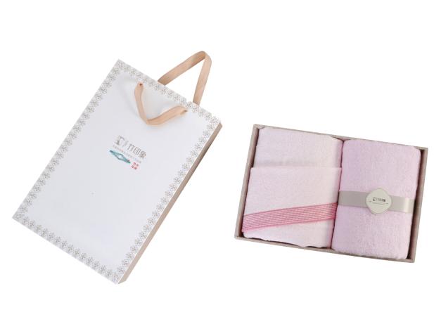 竹印象毛巾礼盒定制
