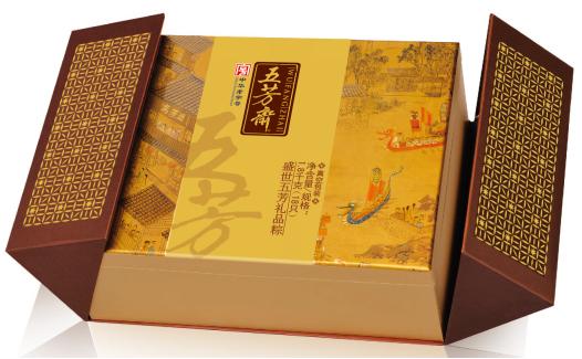 南京五芳斋粽子套装