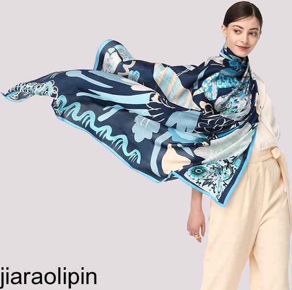南京三八节日员工礼品定制|真丝印花丝巾质量好又实惠