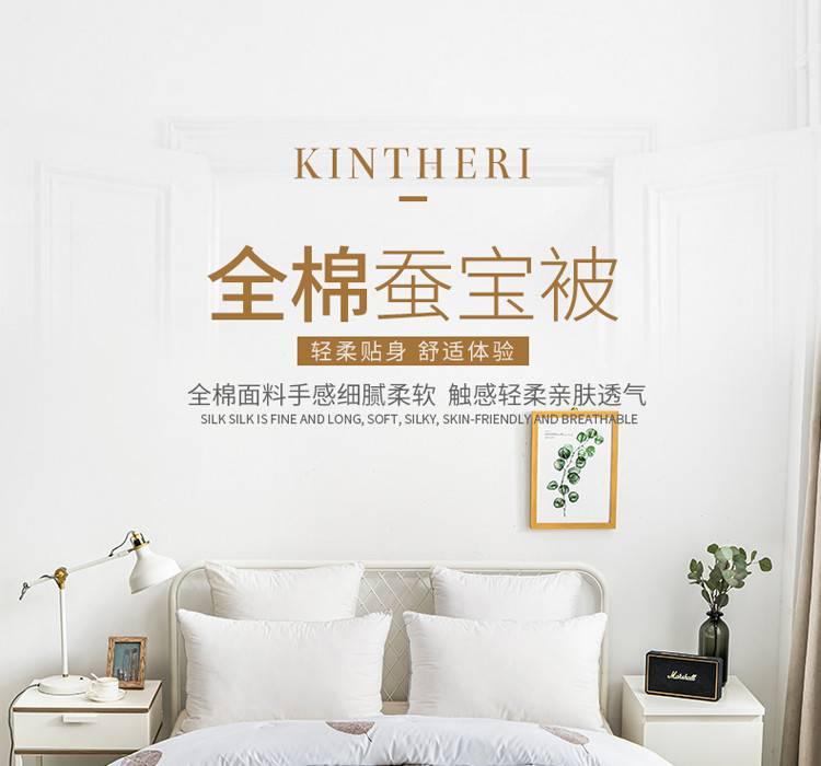 金丝莉/KINTHERT 全棉蚕宝被JB-1162